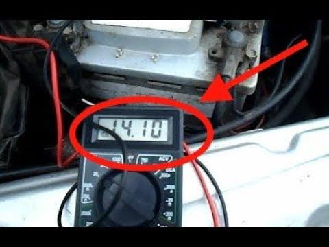 Как проверить генератор ваз 2114 мультиметром