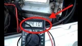 Как  проверить ГЕНЕРАТОР на автомобиле (ВАЗ)