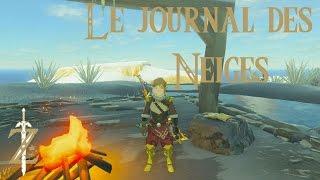 Astuce Zelda Breath of the WIld : Le journal des neiges