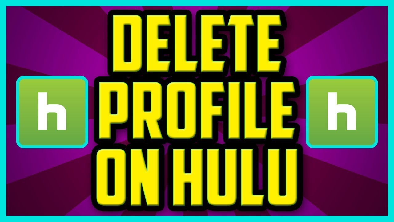 How TO Delete A Profile On Hulu 2018 (QUICK & EASY) - Hulu Delete User  Profile Tutorial