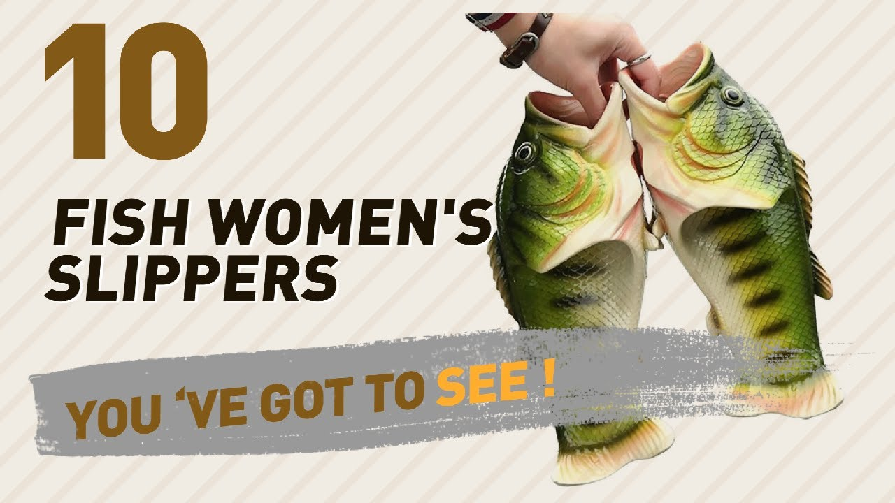 353c5dc6863961 Fish Women s Slippers    New   Popular 2017 - YouTube