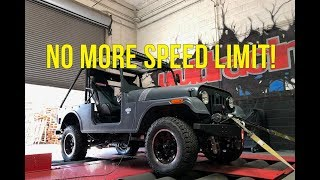Mahindra Roxor ECU Flash and Dyno Test by VRTuned