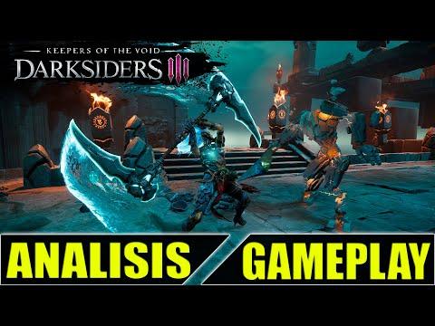 DARKSIDERS 3  NUEVO DLC KEEPERS OF THE VOID  ANALISIS GAMEPLAY ESPAÑOL