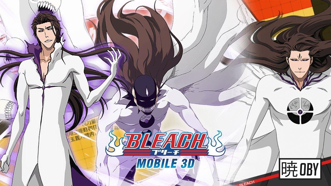 Bleach Mobile 3d Upcoming Characters Hogyoku Aizen Sosuke Youtube