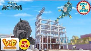 Vir: The Robot Boy   Vir VS Cemento   As Seen On HungamaTV   WowKidz Action