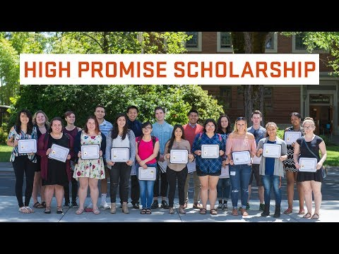 The High Promise Scholarship at Oregon State University