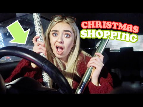 THE DREADED CHRISTMAS SHOP... last minute present buying & surprising my nan!
