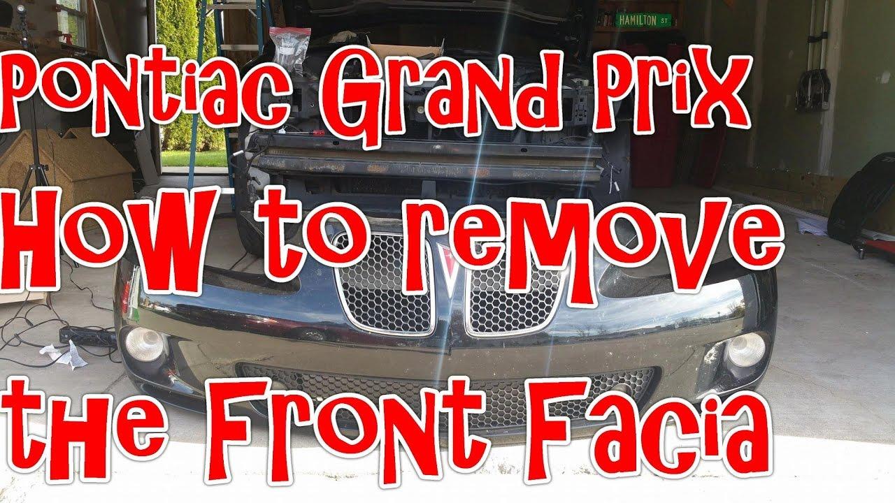 2003 pontiac grand prix transmission removal