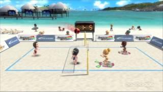 Go Vacation - Volleyball & Surfing Gameplay Movie (Wii)