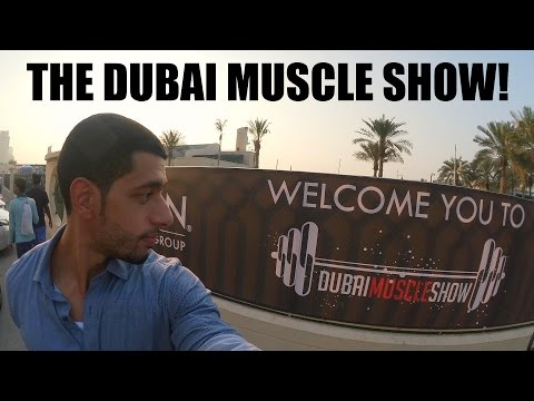 Meeting Lazar Angelov and Jay Cutler at the Dubai Muscle Show! | Vlog #14