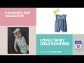 Lovely Baby Girls Rompers 9-12 Month Size Collection