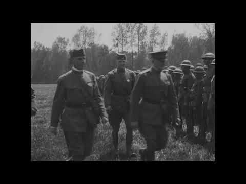 OCCUPATION OF CANTIGNY SECTOR (PICARDY), JUNE 14 - JULY 3, 1918, FIRST DIVISION