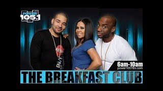 Breakfast Club Power 105.1 FM (4-24-2019) TBC Full Audio