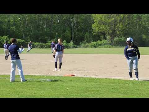 Medomak Middle School softball at Oceanside