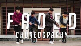 Faded by Alan Walker - Dance Choreography | BACKSPACE CREW
