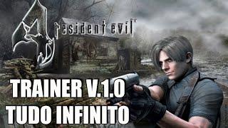 Resident Evil 4 Trainer Hack v.1.0 + Mouse Aim (Vida/Munição/Dinheiro Infinito)