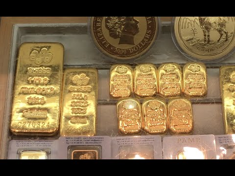 Gold at Dubai International Airport Duty Free