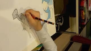 How to draw a Rack Rocks Alian