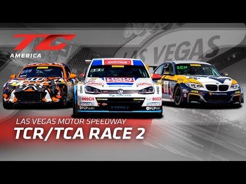 RACE 2 - LAS VEGAS MOTOR SPEEDWAY - TC America - TCR/TCA 2019