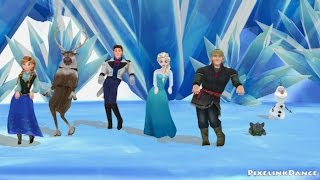 Frozen dancing to What the Fox Say [MMD]