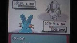 ポケットモンスターエメラルドバトルピラミッド戦 vsジンダイ(銀シンボル) thumbnail