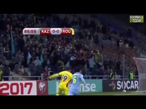 Kazakhstan vs Romania 0:0 - World Cup 2018