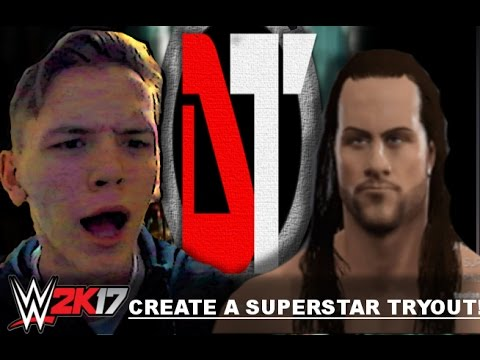 """THIS IS NOT MY THING!!"" WWE 2K17 Create A Superstar Tryout!"
