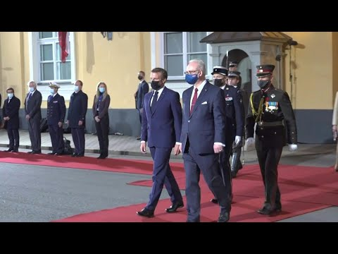 AFP News Agency: Macron visits Latvia for the first time | AFP