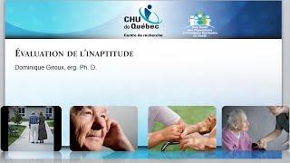 Proposition d'un outil informatisé pour l'évaluation de l'inaptitude chez les personnes âgées.