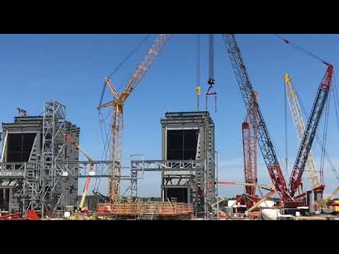 Massive $937M Entergy plant in Willis taking shape
