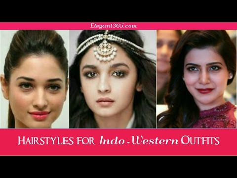 10 Hairstyles for Indo-Western Outfits