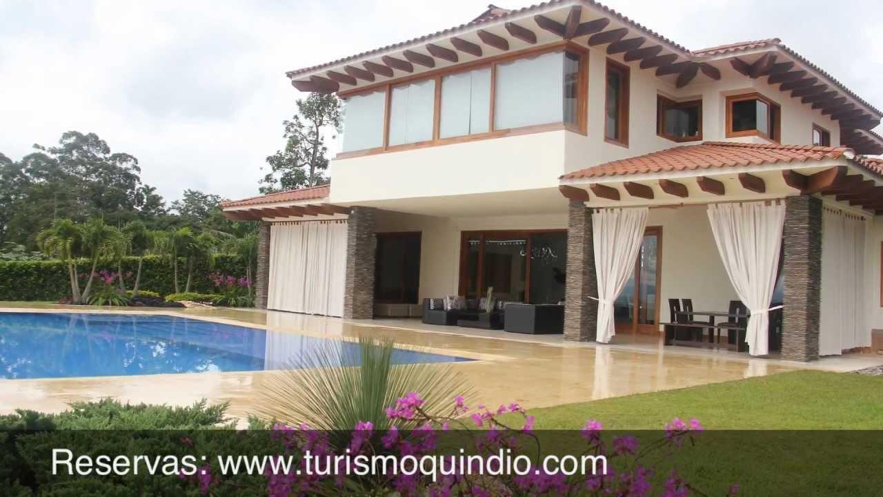 Casa de campo romanza quindio colombia youtube for Fotos de casas prefabricadas