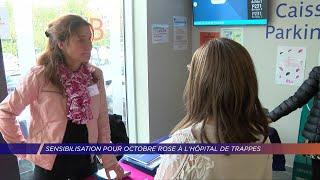 Yvelines | Un stand à l'Hôpital Privé de l'Ouest Parisien pour Octobre Rose