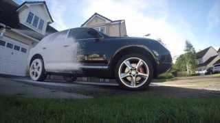 ph neutral snow foam Porsche Cayenne pre wash