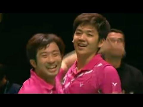 Cai Y./Fu H. v Jung J.S./Lee Y.D. MD-F  Yonex All England Open Badminton Champ. 2012