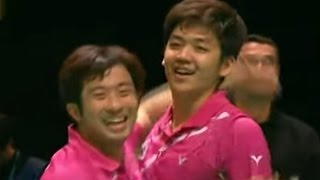 Cai Y./Fu H. v Jung J.S./Lee Y.D.|MD-F| Yonex All England Open Badminton Champ. 2012