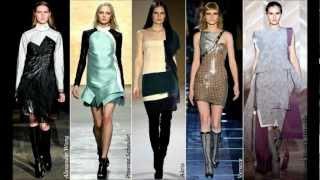 Самые модные платья осень-зима 2012-2013