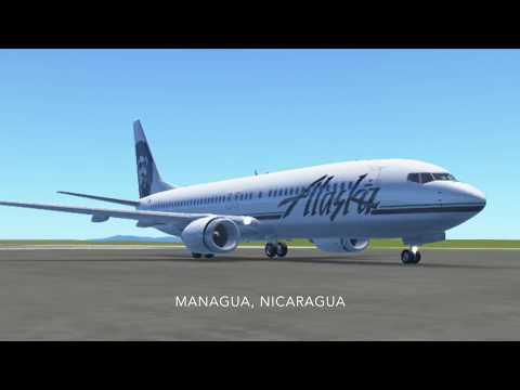 Take off from Managua to Houston Infinite Flight Pro test flight   Skywind007