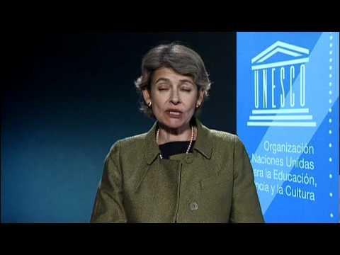 Mensaje de Irina Georgieva Bokova. Directora General de la Unesco