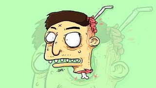 DRAW #19 How to draw a zombie and coloring