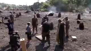 Съемки фильма Ной