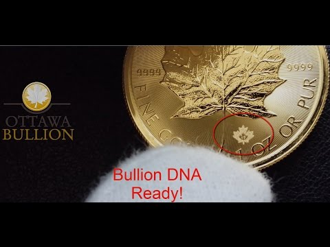 2017 Gold Maple Leaf Coin - Royal Canadian Mint Bullion DNA Dealer OttawaBullion.com