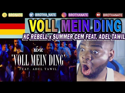 KC Rebell x Summer Cem feat. Adel Tawil - VOLL MEIN DING REACTION!!