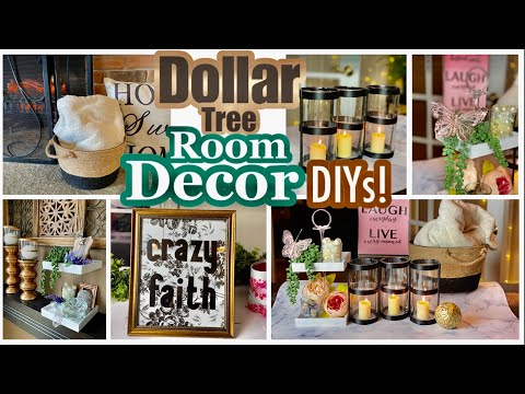 Dollar Tree DIY Neutral Home Decor!!
