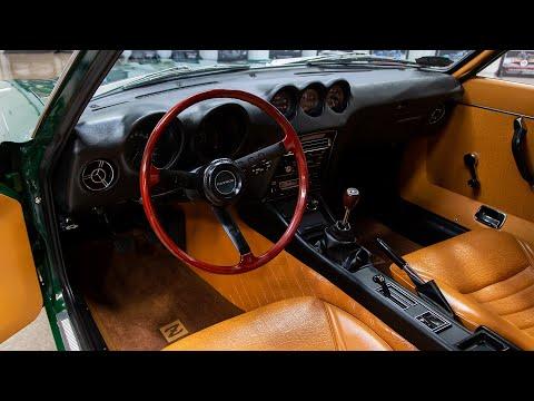1971 Datsun 240Z Test Drive All Original One Owner Unrestored