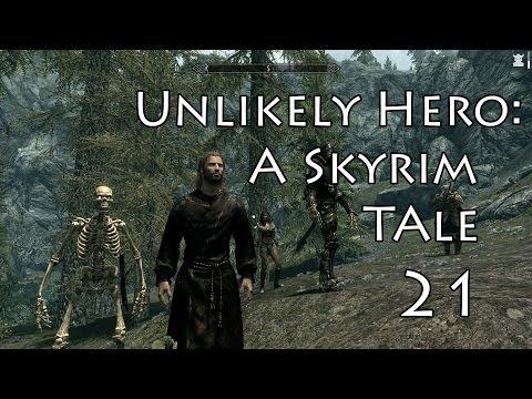 Unlikely Hero:A Skyrim Tale- Part 21 (Shroud Hearth Barrow)