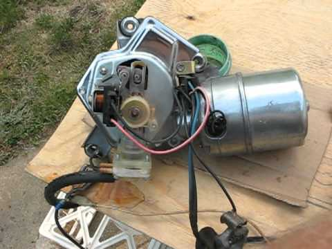 1965 mustang wiring diagram 1994 dodge dakota alternator 1966 buick pontiac cadillac wiper motor 5044628 video.avi - youtube