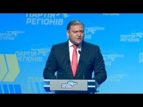 Ukraine: Party of Regions nominates Mykhailo Dobkin as presidential candidate