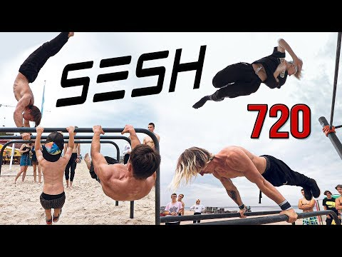 SESH Street Workout | 720s, Regrabs & More | Latvia Bar Family, Daniels Laizans