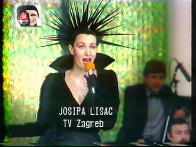Josipa Lisac Gdje Dunav Ljubi Nebo Live Jugovizija 1987 Youtube